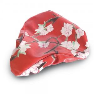Pokrowiec na siodełko Basil Blossom Twig Farm Red
