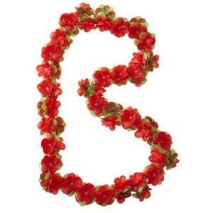 Girlanda kwiatowa Basil czerwona