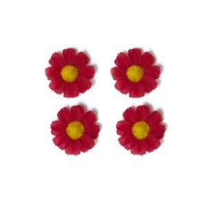 Kwiatki Basil czerwone