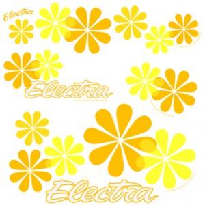 Naklejki Electra Daisy
