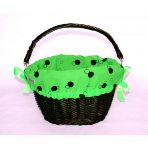 Koszyk LoVelo Green Bubbles