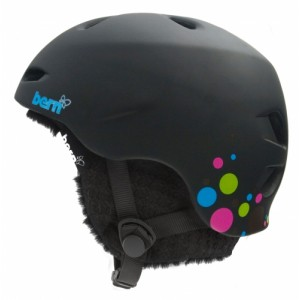Kask Bern Berkeley Matte Black Polka Dot Black